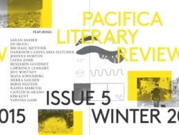 Pacifica Literary Review Issue 5